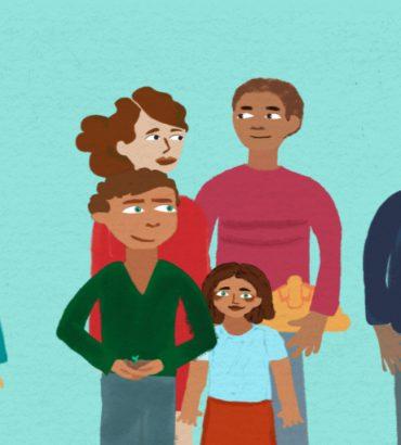 still uit de animatie van samen kansrijk en gezond